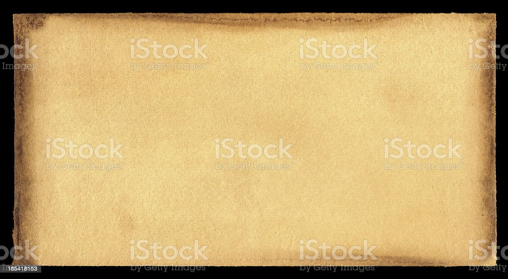 Grunge brown paper textured background royalty-free stock photo