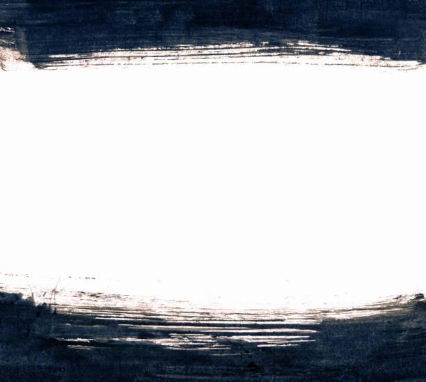Fundo quadro traçado do pincel grunge texturizado - foto de acervo