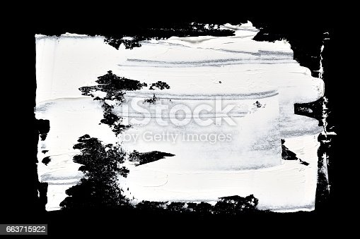534130204istockphoto Grunge brush strokes of oil paint 663715922