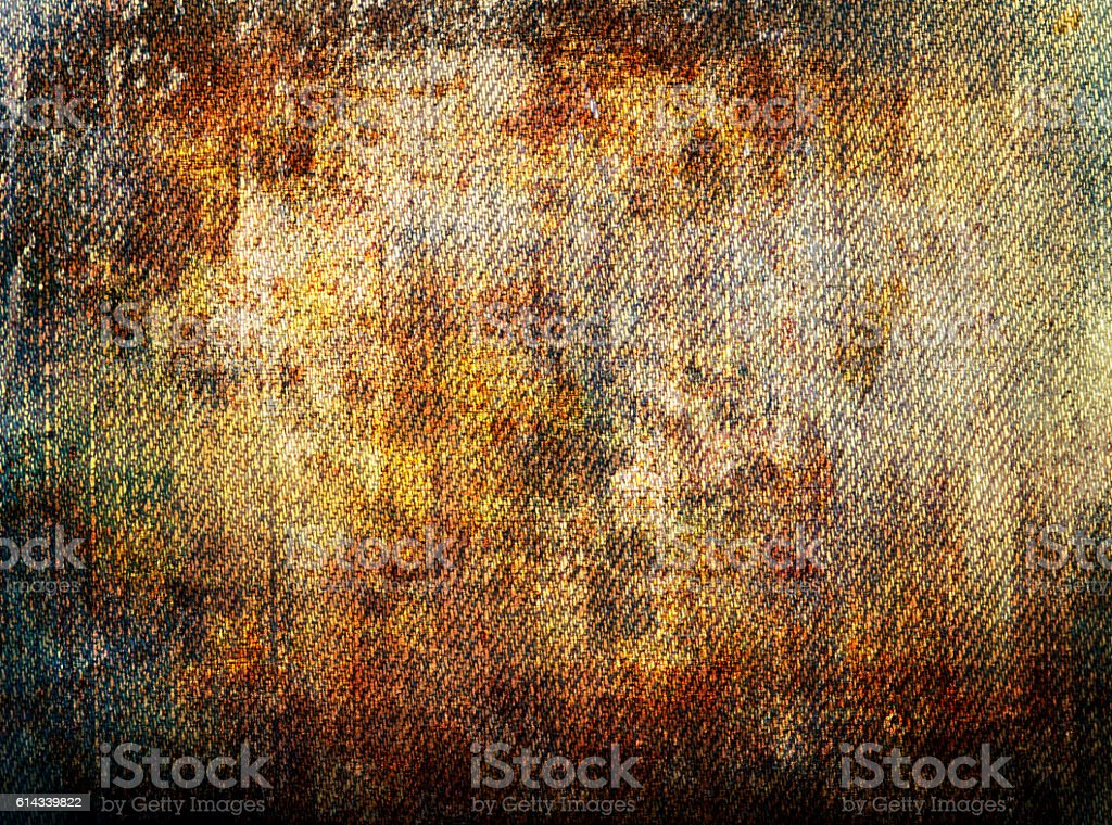 Grunge Canvas  denim detail stock photo