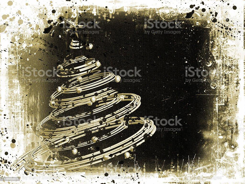 Grunge Christmas royalty-free stock photo