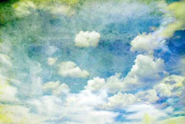 그런 지 구름 스톡 사진