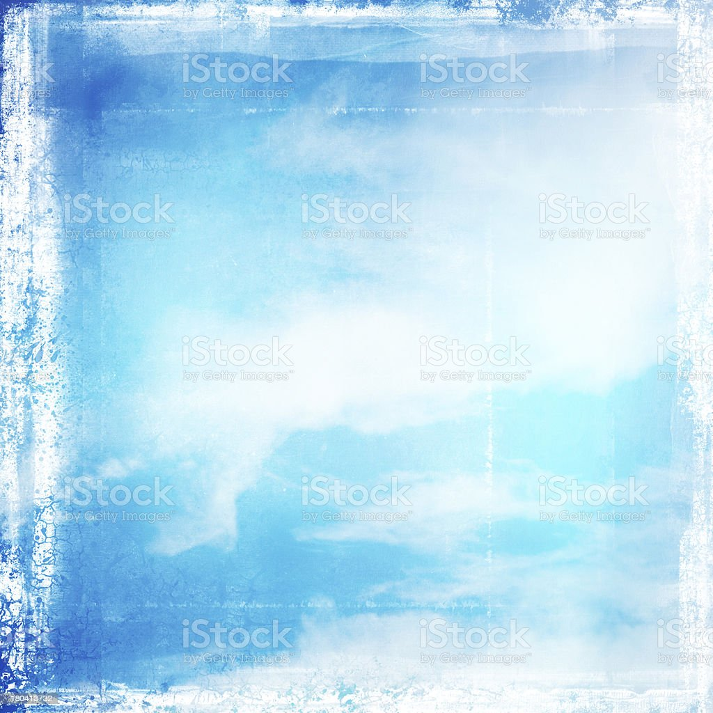 Grunge cloudy sky background royalty-free stock photo