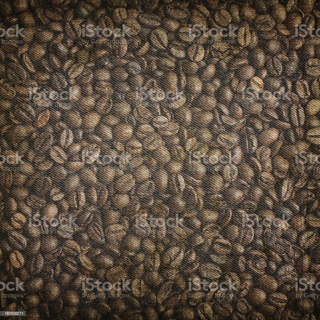Grunge coffee background royalty-free stock photo