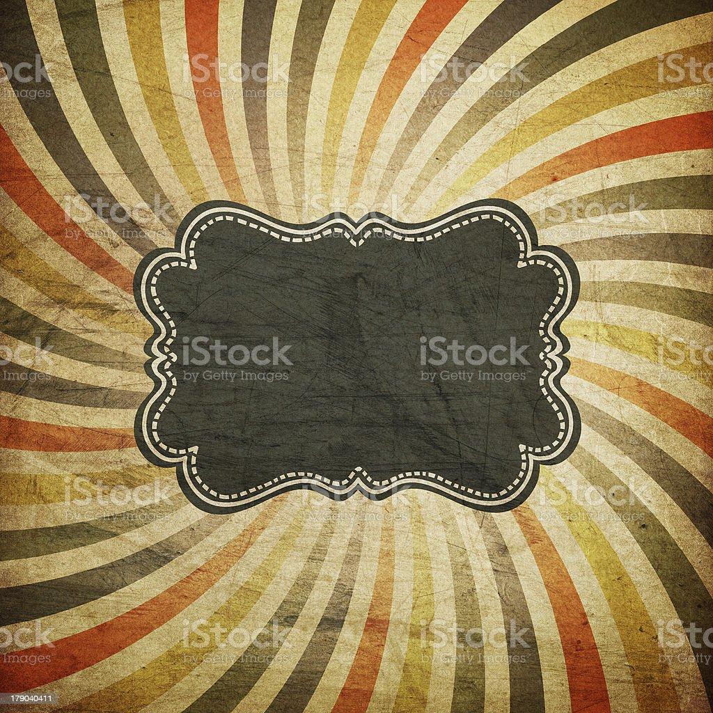 Grunge colorful rays background stock photo
