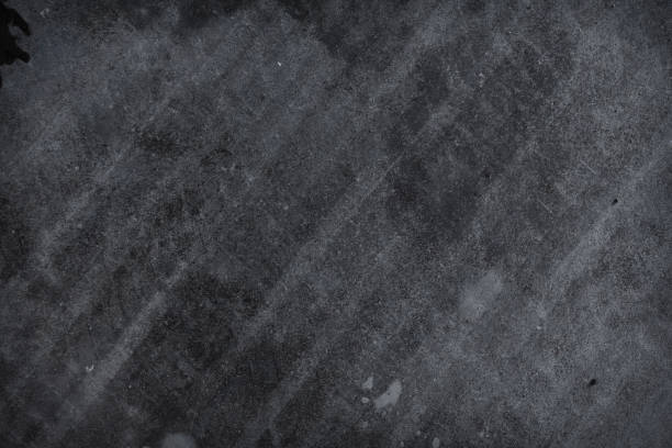 Grunge concrete tire marks background textured concrete grunge background tire track stock pictures, royalty-free photos & images
