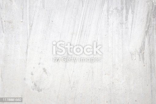 istock Grunge concrete wall at covered with gray cement loft old surface with crack in industrial building, great for your design and texture background. Black and white cracked floor texture vintage. 1178881552