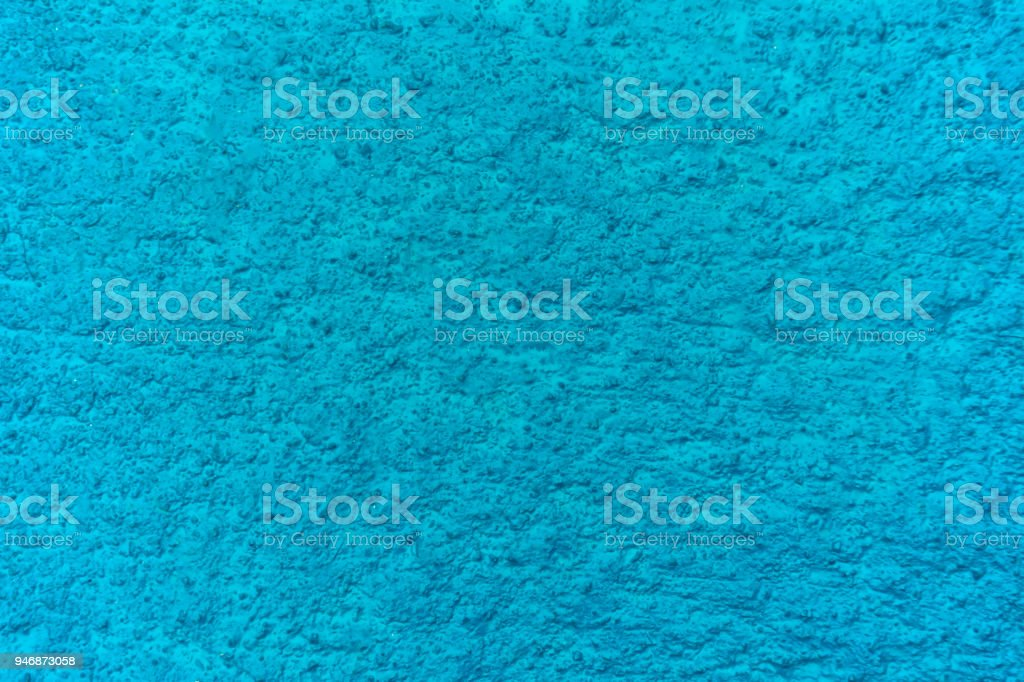fundo de textura de cor de parede de betão azul grunge - foto de acervo