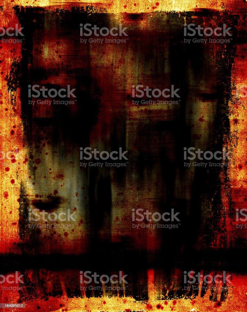 Grunge Contaminated royalty-free stock photo
