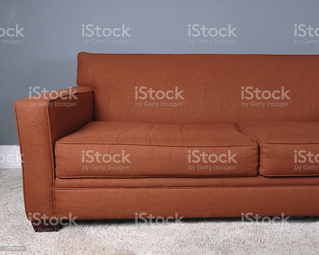 Grunge Couch Sofa royalty-free stock photo
