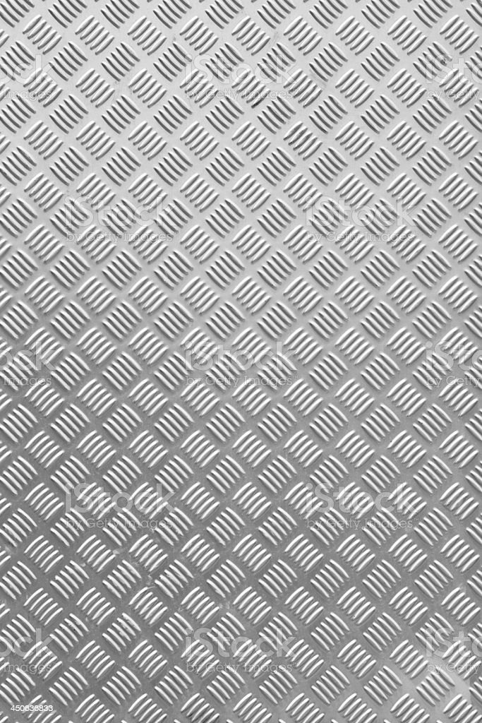 Grunge diamond metal plate texture stock photo