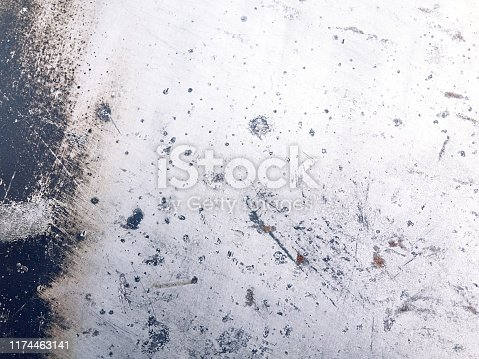 636891860 istock photo Grunge dirty pattern metal surface texture background 1174463141