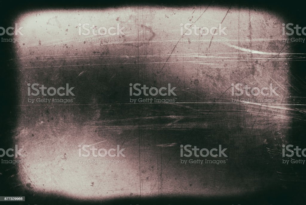 Grunge Dirty Surface of the Old Film stock photo