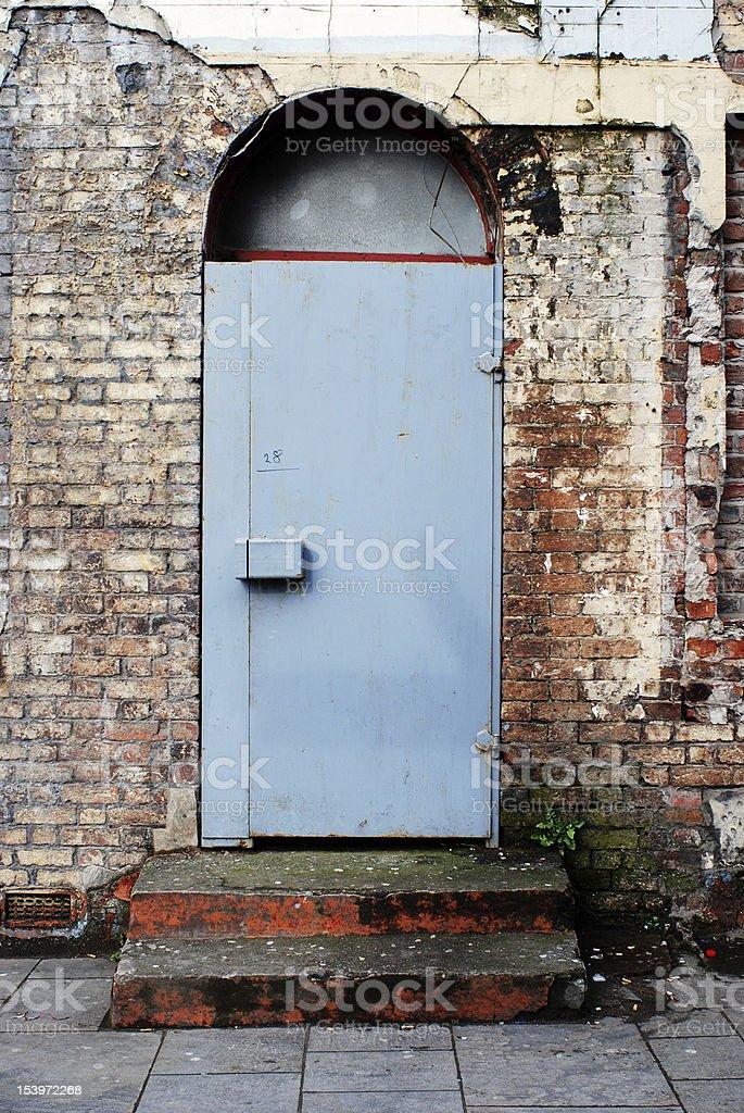Grunge door royalty-free stock photo