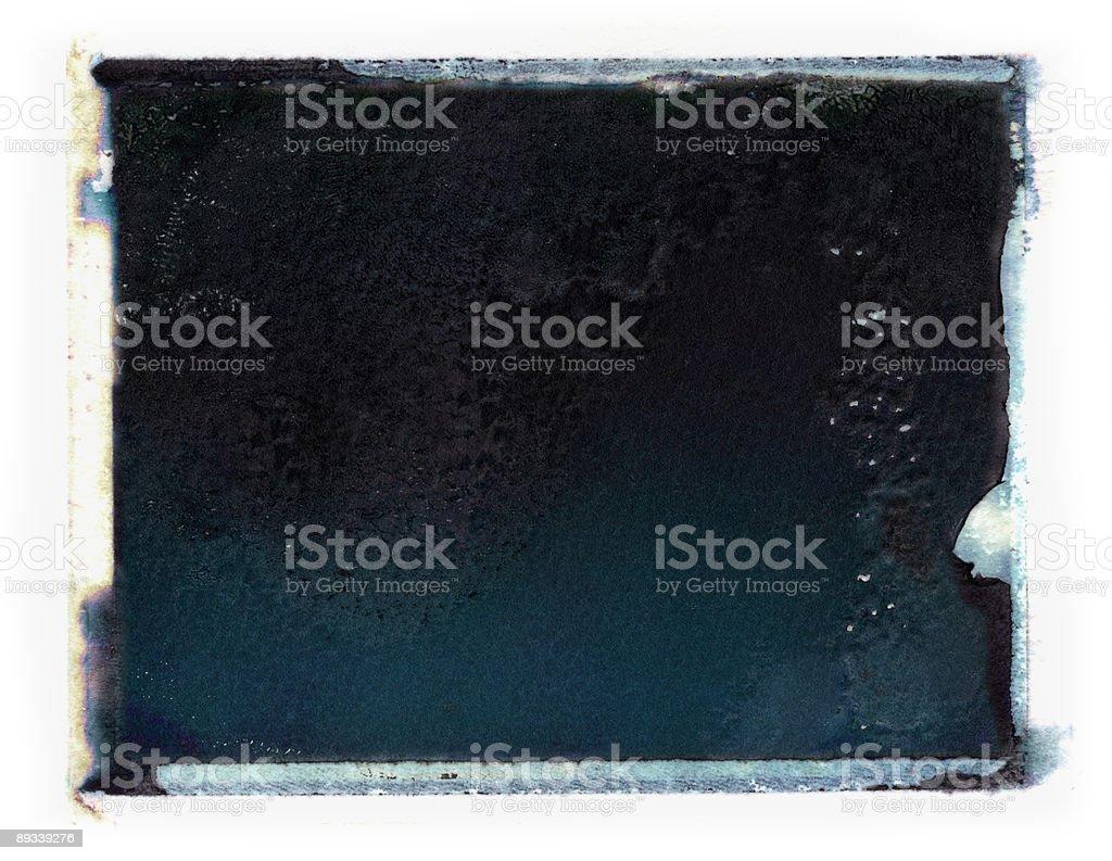 Grunge emulsion transfer stock photo