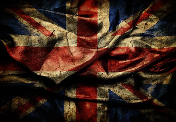 Grunge England flag stock photo