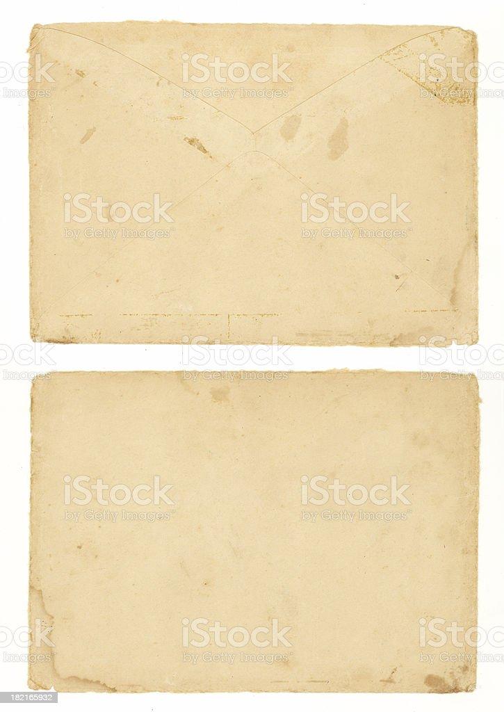Grunge Envelope royalty-free stock photo