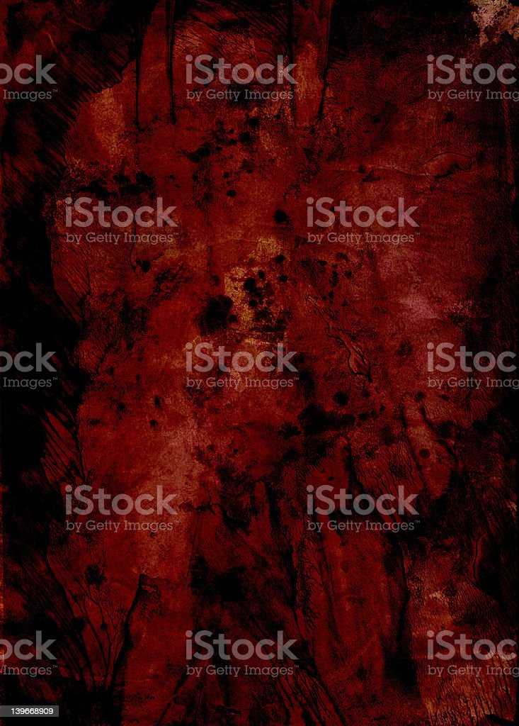 Grunge Evil Red background texture stock photo