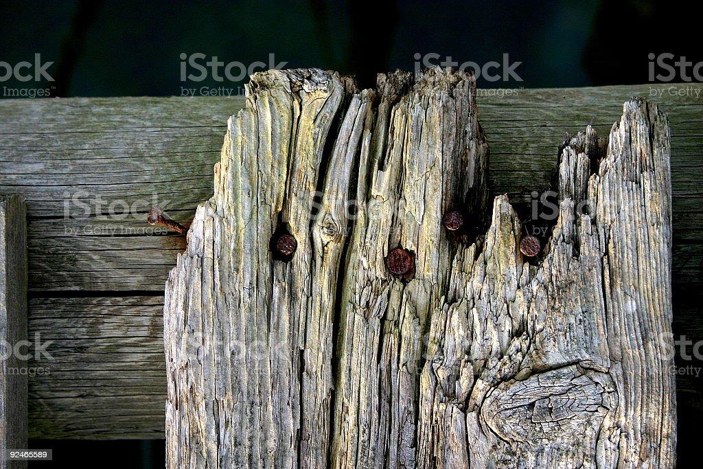 Grunge fence royalty-free stock photo