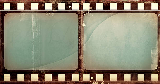 Grunge film frame Computer designed highly detailed grunge film frame with space for your text or image. Nice grunge element or background for your projects.  film negative stock pictures, royalty-free photos & images