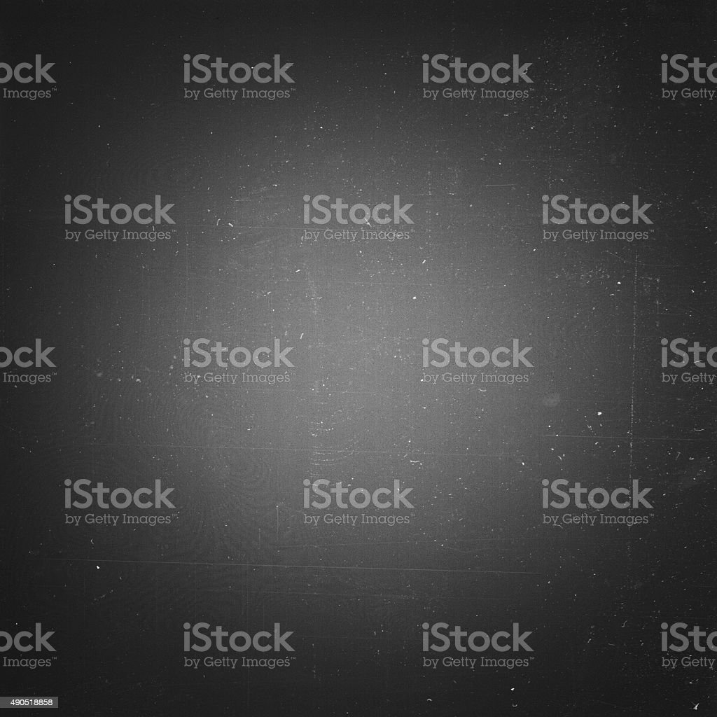 Grunge film negative background, vignetted stock photo