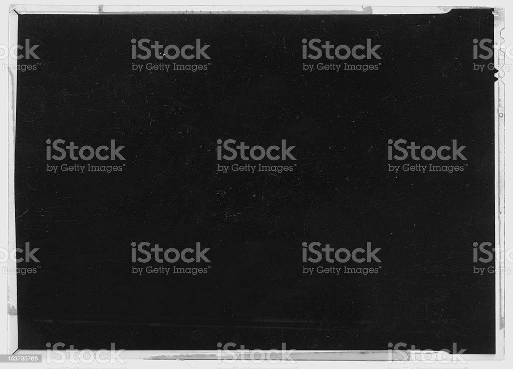 Grunge film negative stock photo