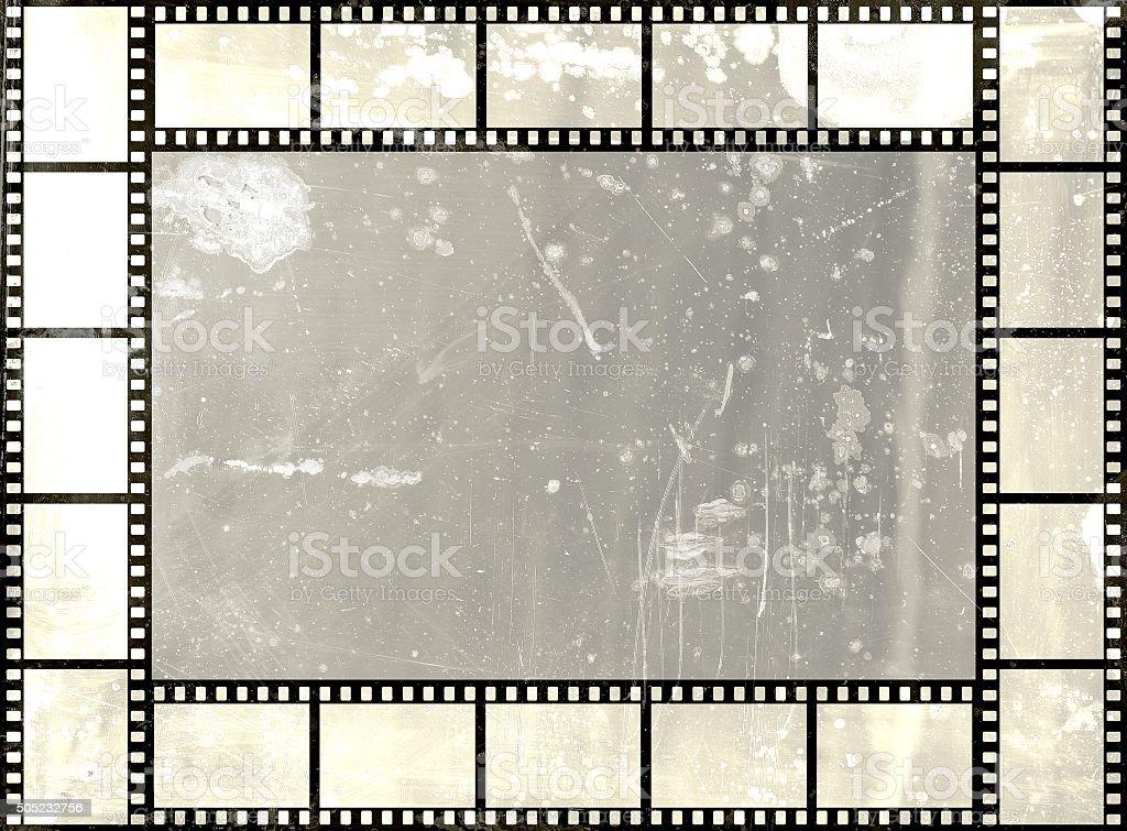 Grungefilmstreifen Rahmen Grau Farben Stock-Fotografie und mehr ...