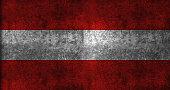Grunge flag of Austria
