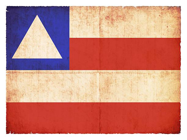 Grunge Flagge von Bahia (Brasilien) – Foto