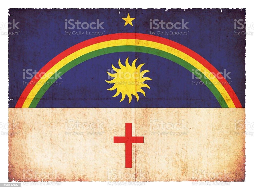 Bandeira do Grunge de Pernambuco (Brasil) - foto de acervo