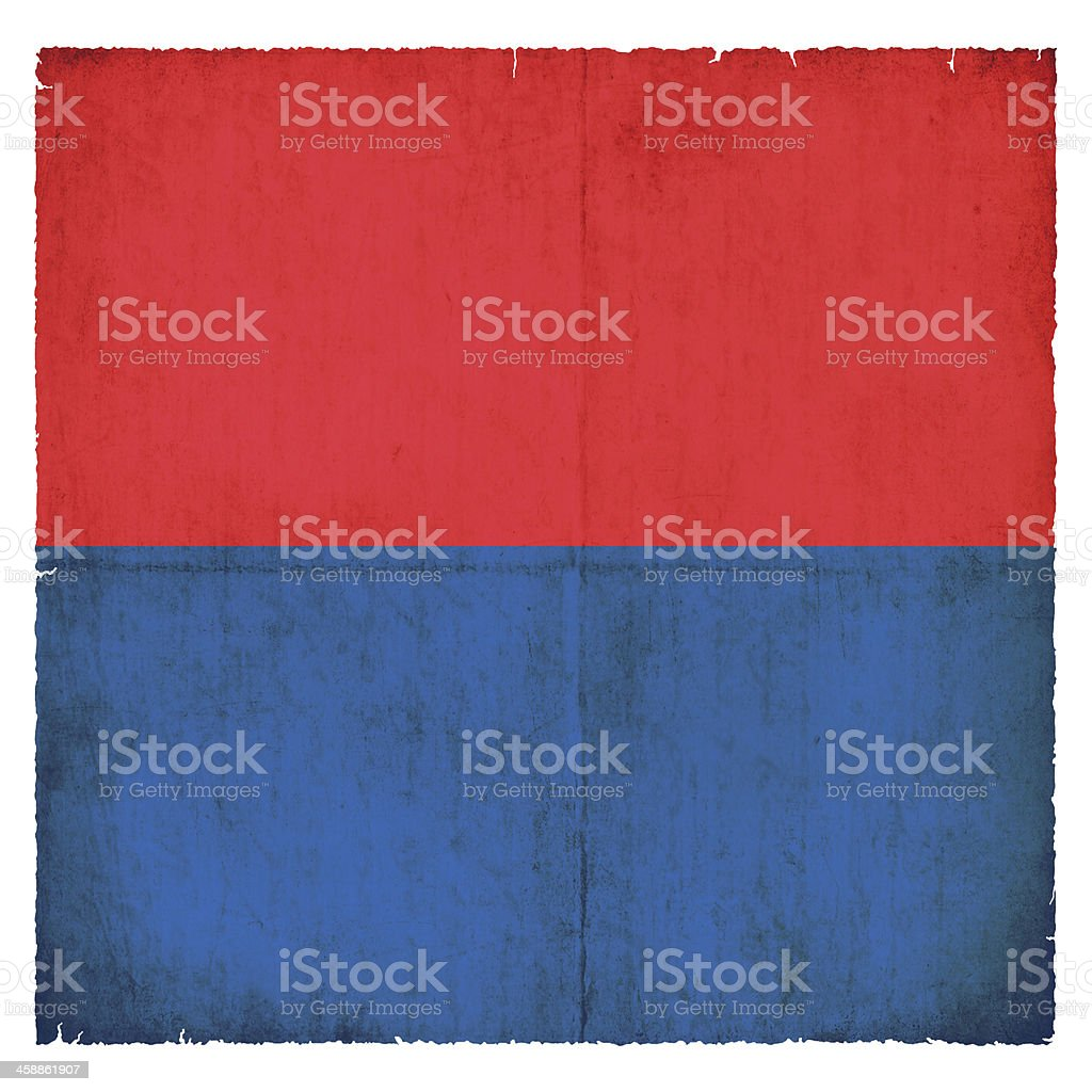 Grunge flag of Ticino (Switzerland) stock photo