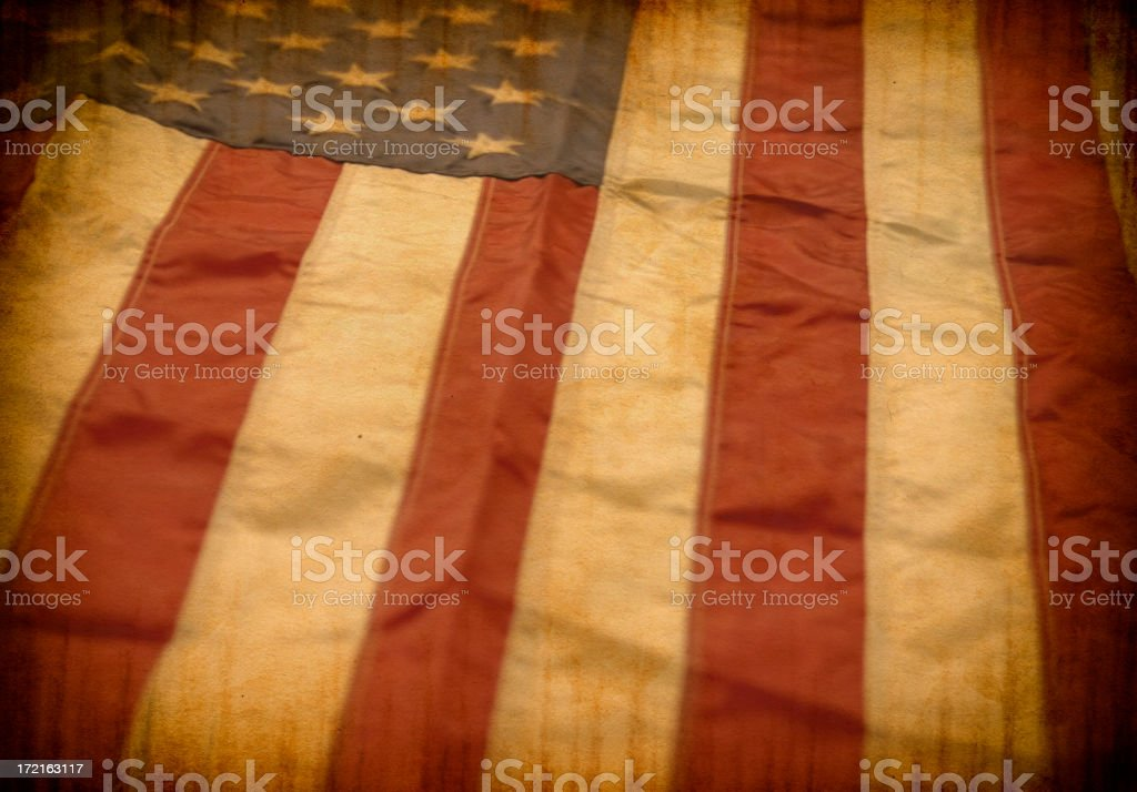 Grunge Flag stock photo