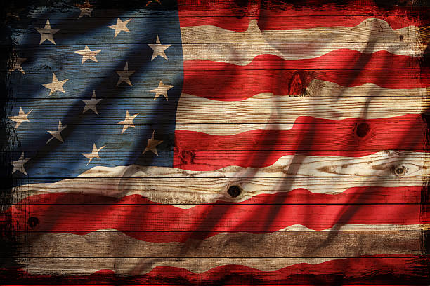 Best Faded American Flag Stock Photos Pictures Royalty