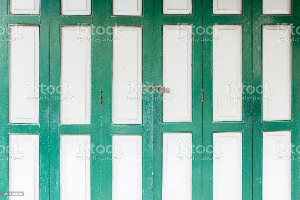 Grunge folding door Lizenzfreies stock-foto