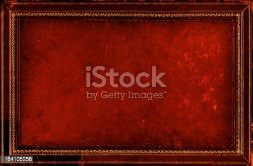 istock Grunge Frame Background 184105258