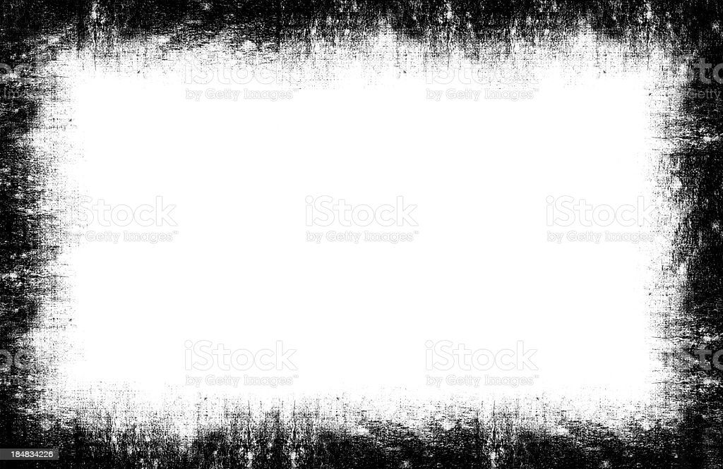 Grunge Frame background textured isolated stock photo