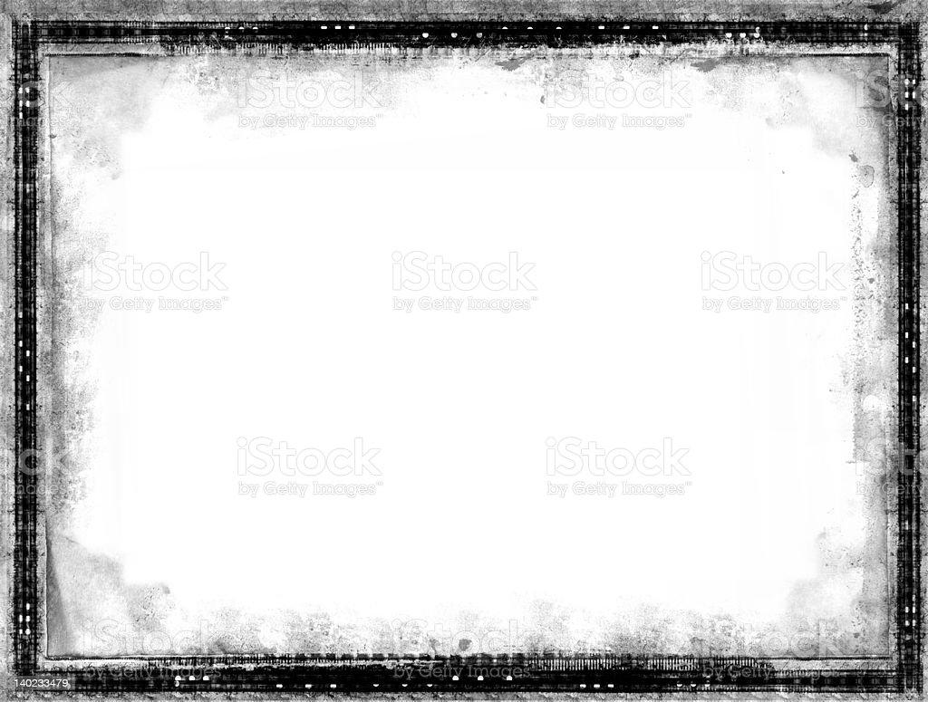 Grunge frame royalty-free stock photo