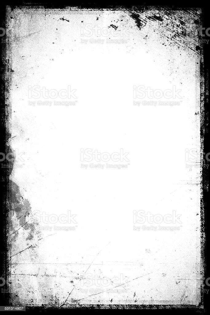grunge frame / plate stock photo