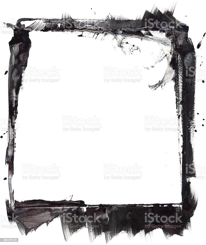 Grunge telaio XXL foto stock royalty-free