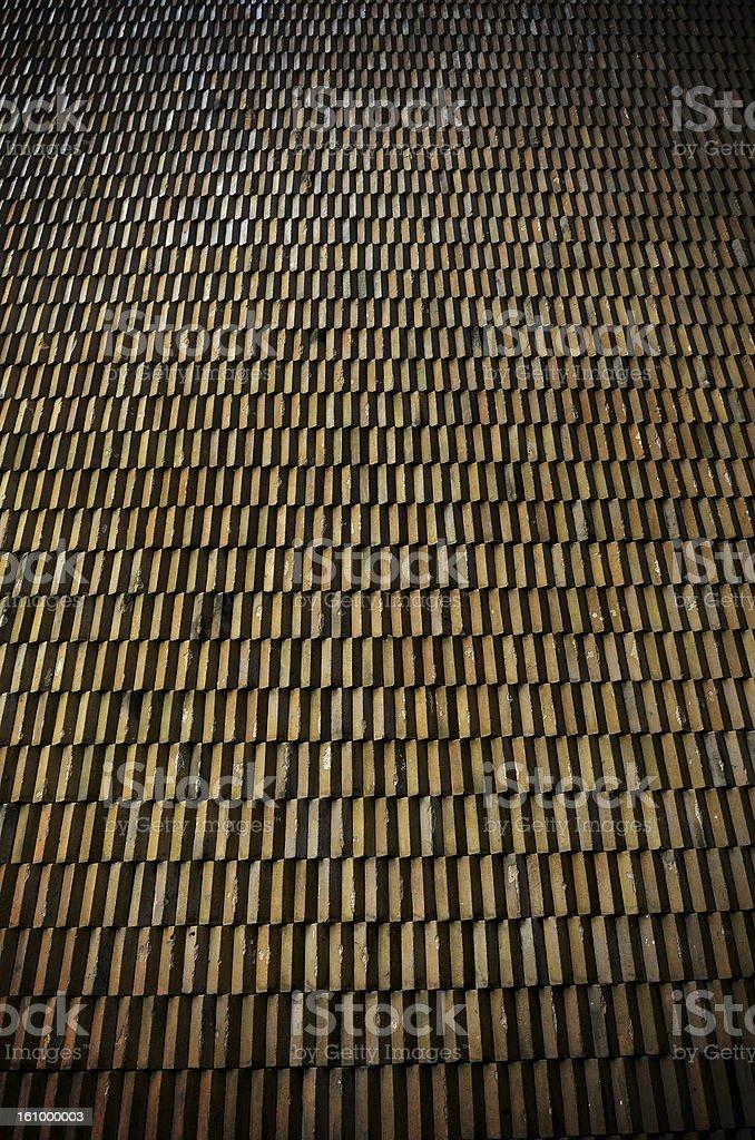 Grunge glazed tile stock photo