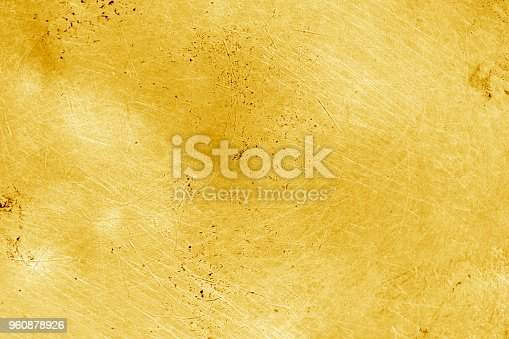 istock Grunge gold background or texture 960878926