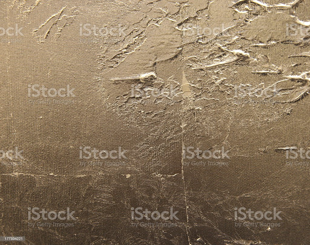 grunge golden painting stock photo