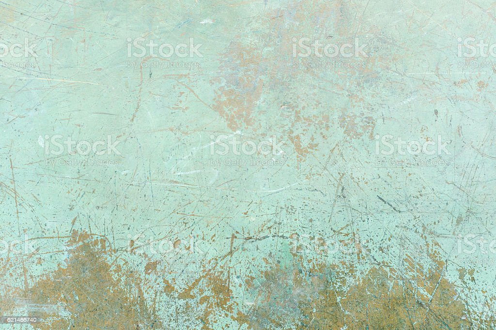 Grunge green background with scratches photo libre de droits