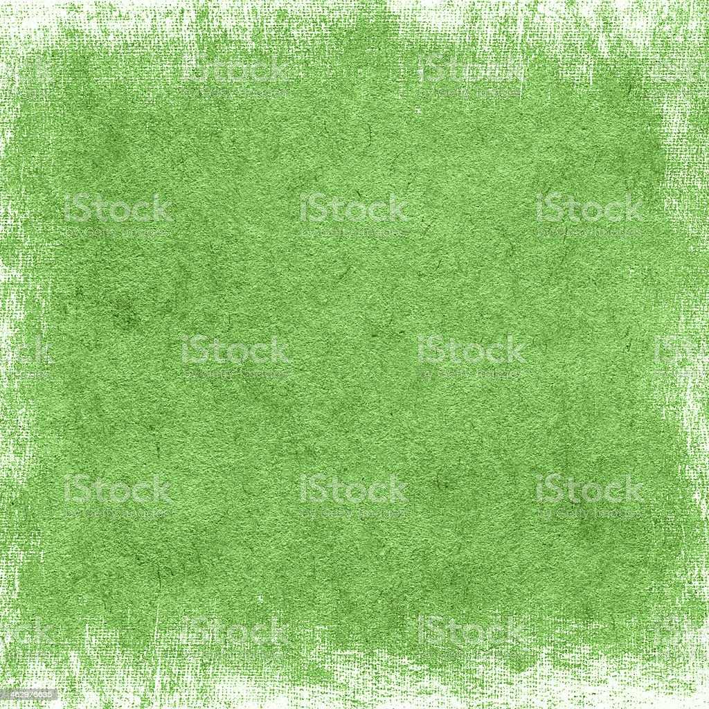 Grunge green paper texture stock photo