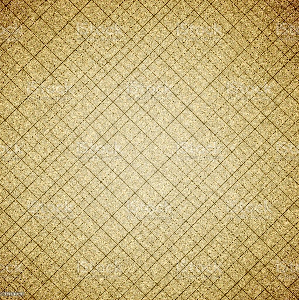 Grunge grid paper backgroud royalty-free stock photo