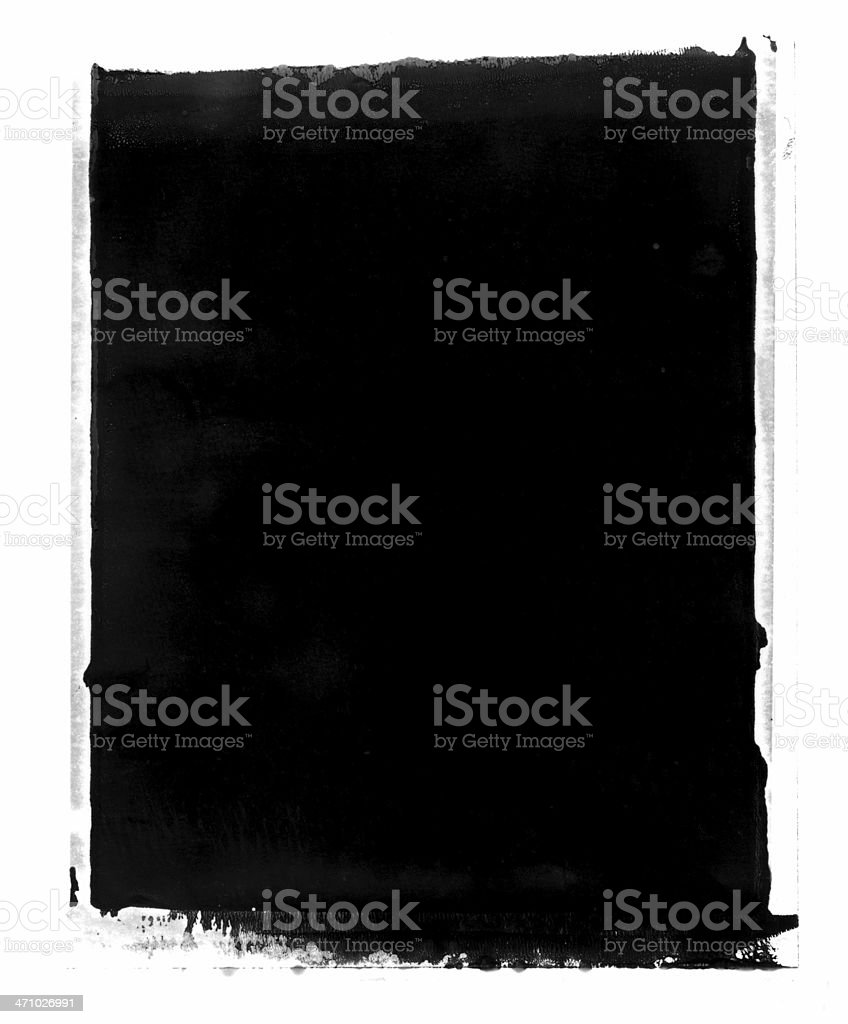 Grunge instant Transfer Background or Frame stock photo