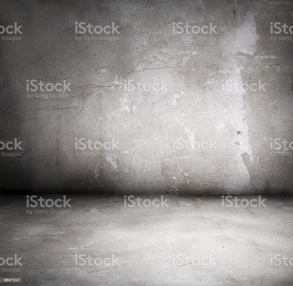 grunge interior stock photo