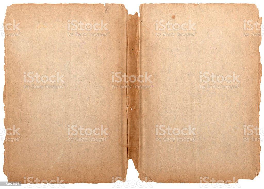 Grunge Isolated Paper XXXL stock photo