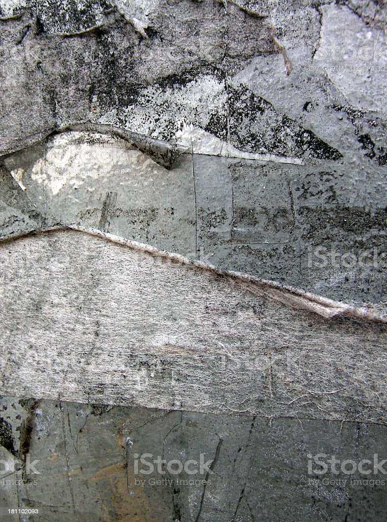 grunge layer paper and tape royalty-free stock photo