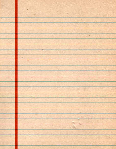 grunge leaf paper - linjerat papper bakgrund bildbanksfoton och bilder